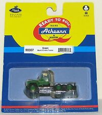 """Athearn Green Mack """"R"""" Tractor Truck -New-Unopened Package--HO SCALE"""