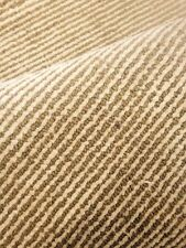 Modern Spectacular Hand Made Area Rug  Stripes Beige / green Woven New 8'x 10 '