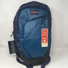 JanSport Interface Laptop Backpack in Coated Corsair Blue