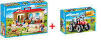 PLAYMOBIL® COUNTRY COLLETION 2 tlg.  6867 Riesentraktor + 4897 Bauernhof