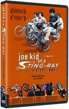 Joe Kid on a Stingray BMX history DVD- Old school bmx - haro mirra hoffman stu