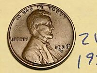 1936-D Lincoln Wheat Cent PENNY 2107K