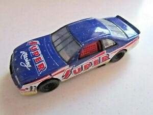 "RealToy ""Super Car Association"" Stock Rally Racing Car Diecast Toy Blue"