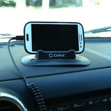 dash board car phone stand holder for Samsung galaxy s4/s3 thin mount sticky pad