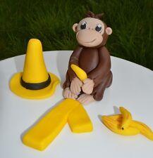 3D Novelty HANDMADE CURIOUS GEORGE CAKE TOPPER/ birthday