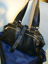 auth pre-owned large MULBERRY double flap and strap Purse pocketbook SATCHEL