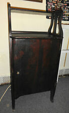 ANTIQUE WOOD CABINET FOR SHEET MUSIC ROLLS RECORDS ETC LONG ISLAND PICK UP