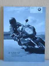 BMW Motorrad Prospekt: R 1200 ST -Preise,Farben und Ausstattungen, Druck 12/2004
