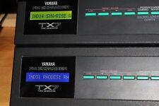 Yamaha TX7-Verde Retroiluminada Lcd Mod. Plug & Play-ninguna soldadura. brillo a prueba de explosión