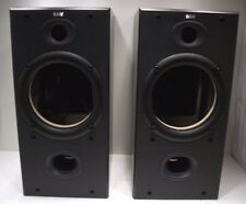 B&W (Bowers & Wilkins) DM602 S2 SPEAKER CABINETS WITH CROSSOVERS