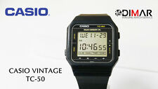 VINTAGE-CASIO TC-50 TOUCH SENSOR CALCULADORA, TACTIL. QW.120 JAPAN AÑO.1980
