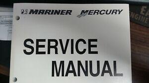 MERCURY MARINER SERVICE MANUAL PART# 90-858895 75-90Hp 4 STROKE 2000 AND NEWER
