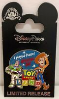 Toy Story Land Opening Day I Played There  2018 Pin Limited Release Buzz Woody