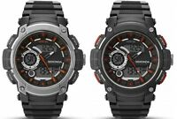 Sekonda Dual Display Digital Alarm Chronograph Black Resin Strap Gents Watch