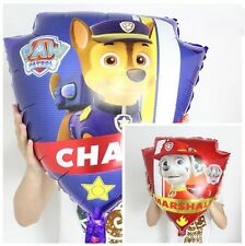 Large Paw Patrol Chase Marshall double sided balloon Birthday Party Foil
