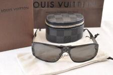 0858953ae5 LOUIS VUITTON Damier Graphite Evasion Sunglasses Titanium Z0209U LV Auth  5686