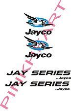 2 Jayco bird Decal 2 jayseries Rv Popup Trailer Camper Decals Graphic Sticker