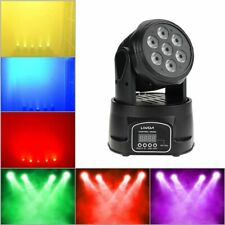 Lixada Moving Head Light 7x10W Moving Head 4 In 1 RGBW Professional 9/14 Chan...