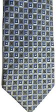 "Roberto Villini Men's Silk Tie 58"" X 4"" Multi-Color Iridescent Geometric"