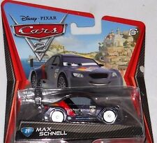 DISNEY PIXAR CARS 2 MAX SCHNELL VHTF