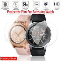 Tempered Glass Smart Watch 3D Curved Edge Screen Protector For Samsung Galaxy