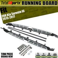 Strong Aluminium Side Step Running Board Brackets for Kia Sorento  2015-2017