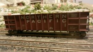 Roundhouse MDC HO Northern Pacific Modern 50'  Thrall Coal Gon, Upgraded, Exc.