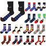 Funny Cute Men's Socks Colorful Cotton Casual Fashion Print Sock Mid Stockings
