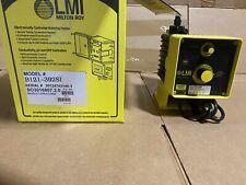 Lmi Metering Pump B121 392si 25 Gph 100 Psi Pvdf Manual Control