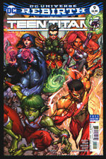 Teen Titans Rebirth #9 Paolo Pantalena Cover Comic