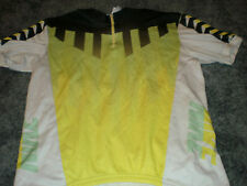 Vtg Nike Multi-Color Cycling Jersey size M Bike Bicycle Partial Zip 80s 90s