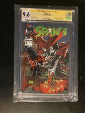Spawn #8 cgc 9.6 Signed By Todd McFarland