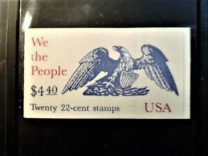 MNH  Booklet BK162 of 20 US 2355-2359a 22c We the Peoplw