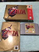 Legend of Zelda: Ocarina of Time (Nintendo 64, 1998) CIB TESTED AUTHENTIC