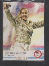 MARIEL ZAGUNIS - 2012 OLYMPICS FENCING - TOPPS #32