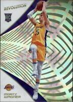 2018-19 Panini Revolution Galactic #147 Moritz Wagner RC Rookie Lakers