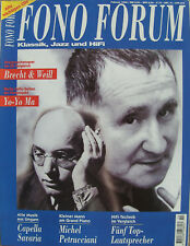 Fono Forum 2/98 Heil A.M.T.Aulos, Audio Physic Tempo, I.Q. System 200T-SSC, Myro