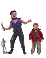 "The Goonies 1985 Sloth and Chunk  8"" 20 cm Clothed 2-Pack Figuren Set NECA"