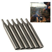 Portable Bellow Telescopic Blowpipe Blow Fire Tube Outdoor Camping Survival Tool