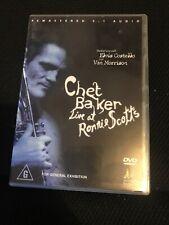 Chet Baker Live at Ronnie Scott's With Van Morrison & Elvis Costello DVD