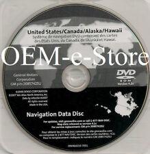 2007 2008 2009 Cadillac SRX GMC Yukon & Hybrid GPS Navigation DVD U.S Canada Map