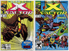 X-FACTOR #76 #77 - 1992 - CGC Ready! - 9.6 OR BETTER