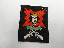 MILITARY PATCH OLD VIETNAM ERA THEATER MADE FORWARD OPS BASE 2 BLUE PLATOON SOG