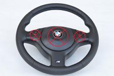 Steering wheel BMW M3 M5 E46 E39 X5 E53 E38 Sport genuine leather 3 colour NEW