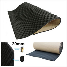 1X0.5M Car Sound Deadener Noise Insulation Acoustic Dampening Foam subwoofer Mat