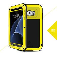 LOVE MEI Gorilla Glass Shockproof Aluminum Metal Case Cover Apple Samsung Huawei