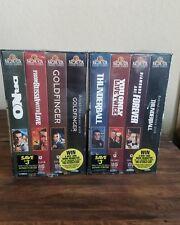 Vintage James Bond 007 Gift Set Volume 1&  2 VHS  4 Tapes in set- New