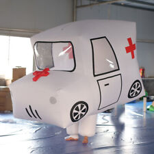 Inflatable Ambulance Costume Personalized Parade Movable Inflatable Car