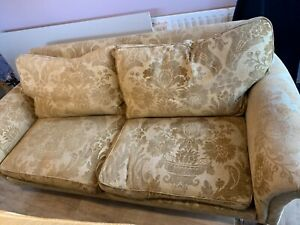 Handmade quality Duresta 3-4 seater sofa and 2 x chairs