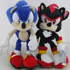 "Sonic Runners Adventure fleece cap 11/"" Shadow the Hedgehog Figure Plush soft Toy"